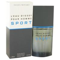 L'Eau D'Issey Pour Homme Sport By Issey Miyake 3.4 oz Eau De Toilette Spray for Men