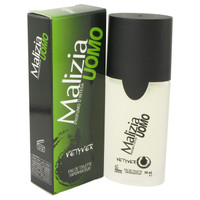 Malizia Uomo By Vetyver 1.7 oz Eau De Toilette Spray for Men