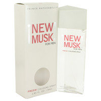 New Musk By Prince Matchabelli 2.8 oz Cologne Spray for Men