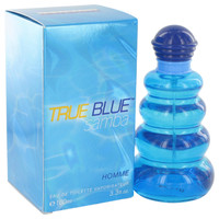 Samba True Blue By Perfumers Workshop 3.4 oz Eau De Toilette Spray for Men