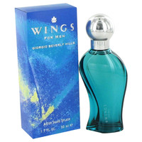 Wings By Giorgio Beverly Hills 1.7 oz After Shave for Men