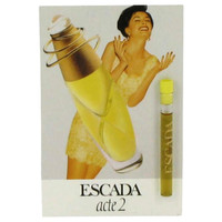 Acte 2 By Escada .04 oz Vial Sample for Women