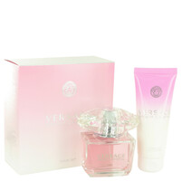 Bright Crystal By Versace Gift Set with Body Lotion for Women