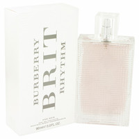 Brit Rhythm By Burberry 3 oz Eau De Toilette Spray for Women