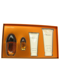 Obsession By Calvin Klein Gift Set with Shower Gel for Women