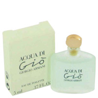 Acqua Di Gio By Giorgio Armani .17 oz Mini EDT for Women