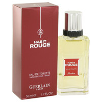 Habit Rouge By Guerlain 1.7 oz Eau De Toilette Spray for Men
