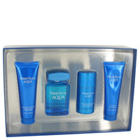 Aqua By Perry Ellis Gift Set for Men