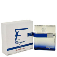 F Free Time By Salvatore Ferragamo 3.4 oz Eau De Toilette Spray Tester for Men
