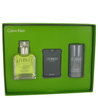 Eternity By Calvin Klein Gift Set with Eau De Toilette Spray for Men