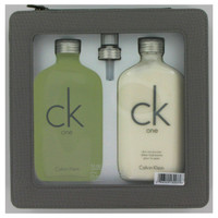 CK One By Calvin Klein Gift Set with Body Lotion for Men