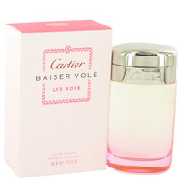 Baiser Vole Lys Rose By Cartier 3.3 oz Eau De Toilette Spray for Women