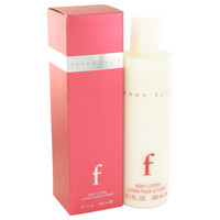 F By Perry Ellis 6.7 oz Body Lotion for Women