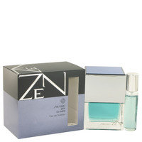 Zen By Shiseido 3.4 oz Eau De Toilette Spray Plus Free 1/2 oz Mini Spray for Men