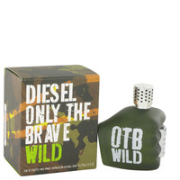Only The Brave Wild by Diesel 2.5 oz Eau De Toilette Spray for Men