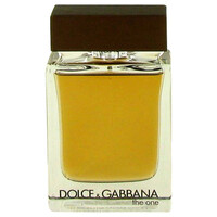 The One By Dolce & Gabbana 3.4 oz Eau De Toilette Spray Tester for Men