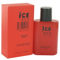 Ice Red By Sakamichi 3.4 oz Eau De Parfum Spray for Men