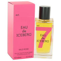 Eau De Iceberg Wild Rose By Iceberg 3.4 oz Eau De Toilette Spray for Women