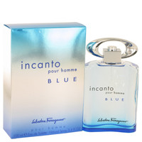 Incanto Blue By Salvatore Ferragamo 3.4 oz Eau De Toilette Spray for Men