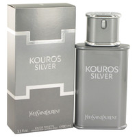 Kouros Silver By Yves Saint Laurent 3.4 oz Eau De Toilette Spray for Men