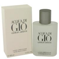 Acqua Di Gio By Giorgio Armani 3.4 oz After Shave Lotion for Men
