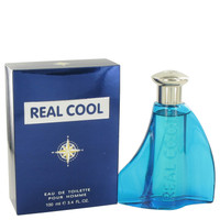 Real Cool By Victory International 3.4 oz Eau De Toilette Spray for Men