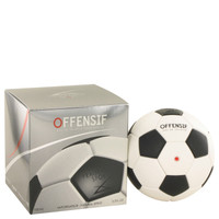 Offensif Soccer by Fragrance Sport 3.3 oz Eau De Toilette Spray for Men