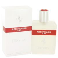 Red Power Ice By Ferrari 4.2 oz Eau De Toilette Spray for Men
