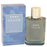 Valor By Dana 3.4 oz Eau De Toilette Spray for Men