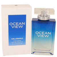Ocean View By Karl Lagerfeld 3.3 oz Eau De Toilette Spray for Men