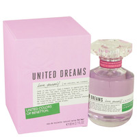 United Dreams Love Yourself By Benetton 2.7 oz Eau De Toilette Spray for Women