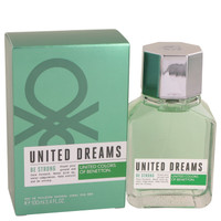 United Dreams Be Strong By Benetton 3.4 oz Eau De Toilette Spray for Men