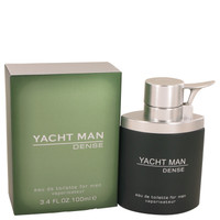 Yacht Man Dense By Myrurgia 3.4 oz Eau De Toilette Spray for Men