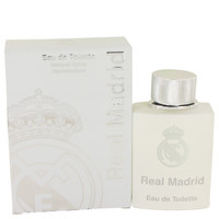 Real Madrid By Air Val International 3.4 oz Eau De Toilette Spray for Women