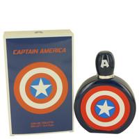 Captain America By Marvel 3.4 oz Eau De Toilette Spray for Men