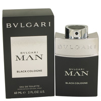 Man Black Cologne By Bvlgari 2 oz Eau De Toilette Spray for Men
