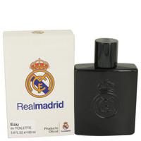 Real Madrid Black By Air Val International 3.4 oz Eau De Toilette Spray for Men