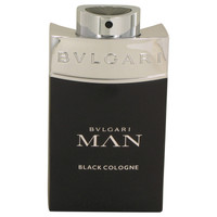 Man Black Cologne By Bvlgari 3.4 oz Eau De Toilette Spray Tester for Men