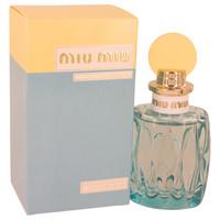 L'Eau Bleue By Miu Miu 3.4 oz Eau De Parfum Spray for Women