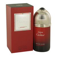 Pasha De Cartier Noire Sport By Cartier 3.3 oz Eau De Toilette Spray for Men
