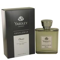 Yardley Gentleman Classic By Yardley London 3.4 oz Eau De Toilette Spray for Men