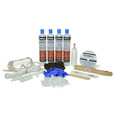 Polyurethane Foam Foundation Crack Repair Kit 10 ft. w/ Peel Off Surface Sealer