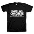 "Concrete Sealers USA ""Hard as Concrete"" T-Shirt"