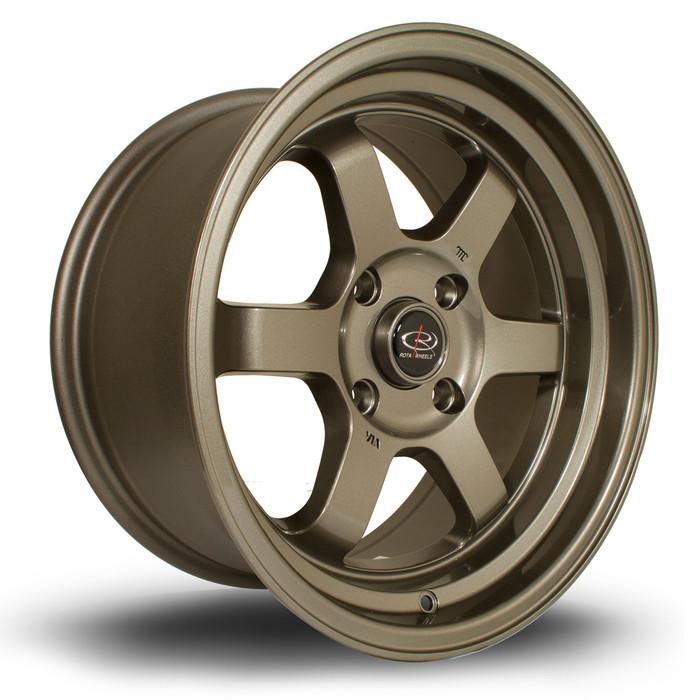 Rota Grid-V 16x8 ET20 4x100 Bronze