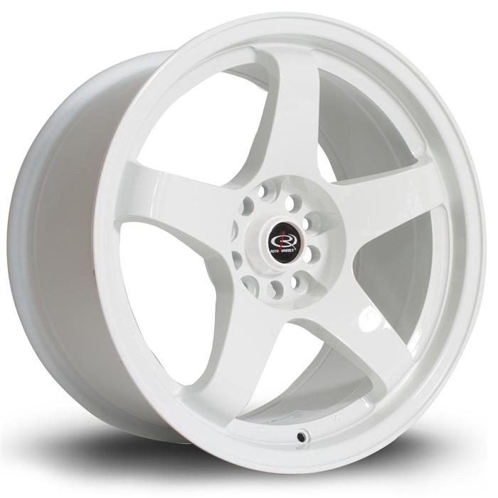 Rota GTR 17x9.5 ET12 5x114 White