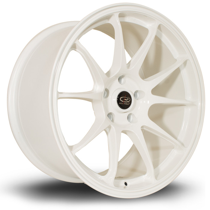 Rota Titan 18x9.5 ET30 5x114 White