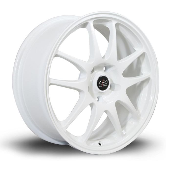 Rota Torque 17x7.5 ET48 5x100 White