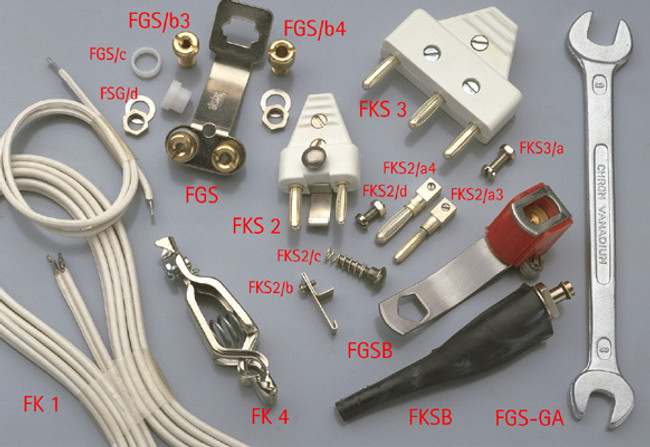 Screws and Nuts for 3-pin Connector
