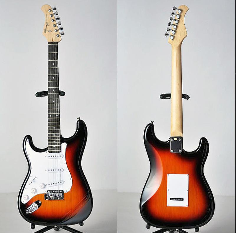 Bacchus Universe Series BST-1R-LH Electric Guitar - Left Handed - 3 Tone Sunburst