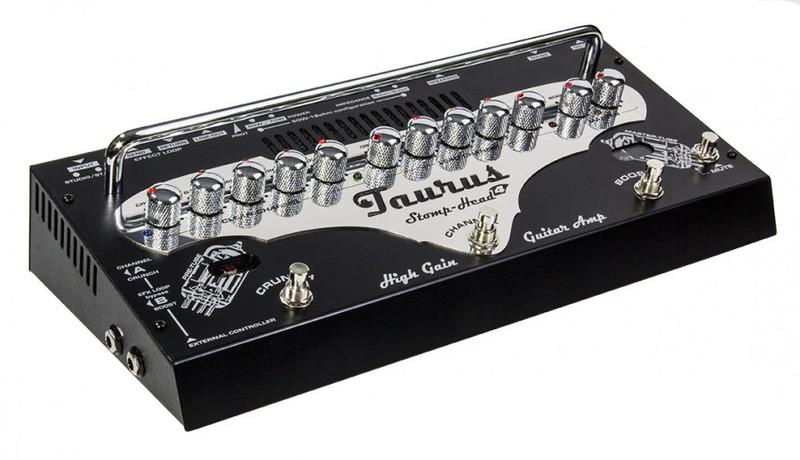 Taurus Stomp-Head 4.High Gain - 70Watt Ultra light analog guitar amplifier with master TUBE design